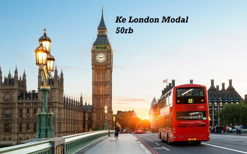 Ke London Modal 50rb